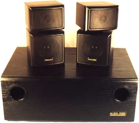Emerson Subwoofer Satellite System Page With Enlarged View
