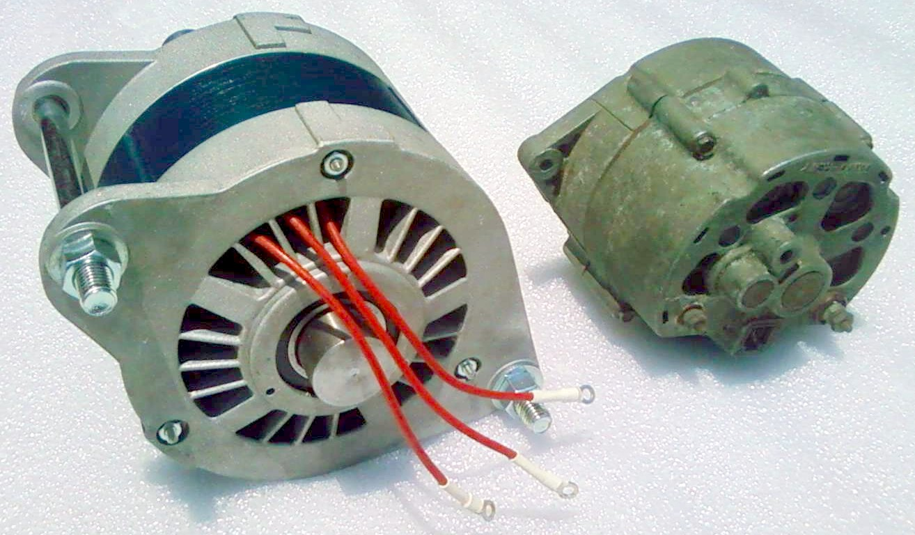 Generate Electricity From Car Alternator