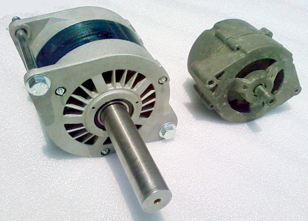 Car Alternator Wind Generator : Pm alt permanant magnet alternator for wind turbine