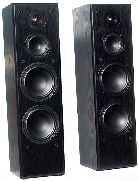 Dual 8 woofer 5 midrange for 12 inch floor speakers