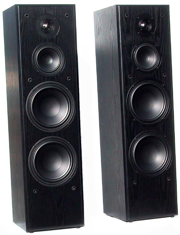 Dual 8 woofer 5 midrange for 12 inch floor standing speakers
